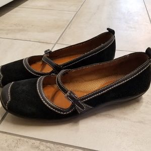 Women's size 9m Naturalizer black Mary Janes